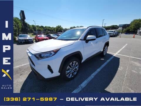 2019 Toyota RAV4 for sale at Impex Auto Sales in Greensboro NC