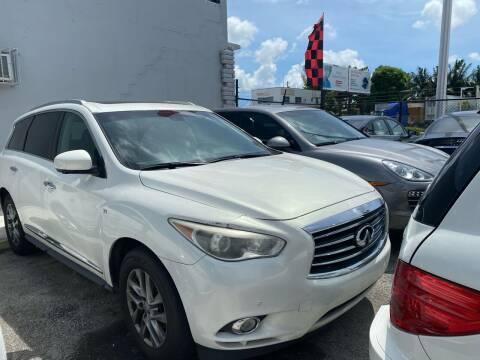 2014 Infiniti QX60 for sale at America Auto Wholesale Inc in Miami FL