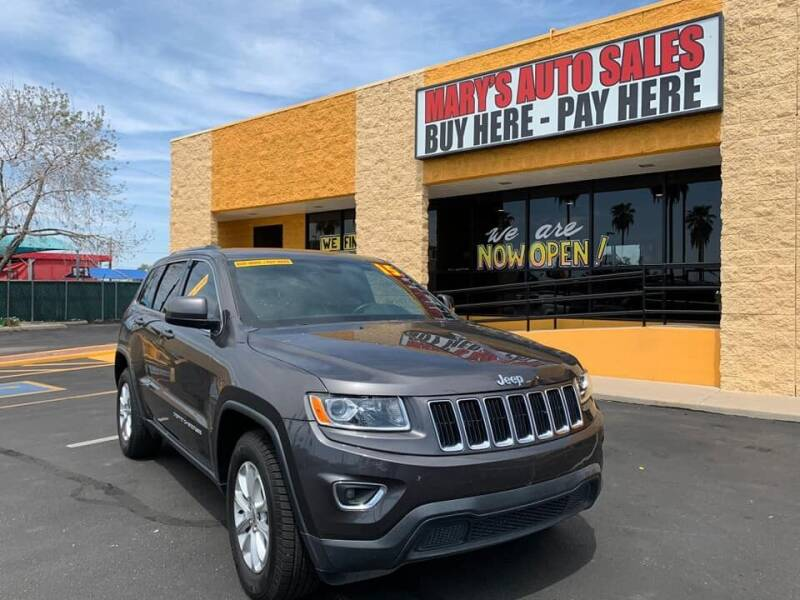 2015 Jeep Grand Cherokee for sale at Marys Auto Sales in Phoenix AZ