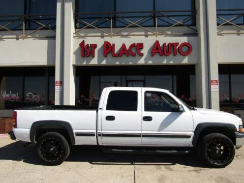 2001 Chevrolet Silverado 1500HD for sale at First Place Auto Ctr Inc in Watauga TX