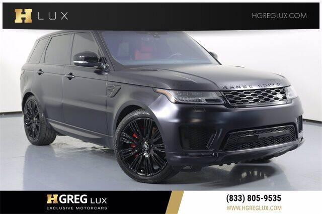 2020 Land Rover Range Rover Sport for sale in Pompano Beach, FL