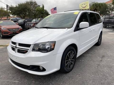 2016 Dodge Grand Caravan for sale at EZ Own Car Sales of Miami in Miami FL
