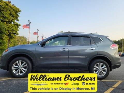 2016 Nissan Rogue for sale at Williams Brothers - Pre-Owned Monroe in Monroe MI