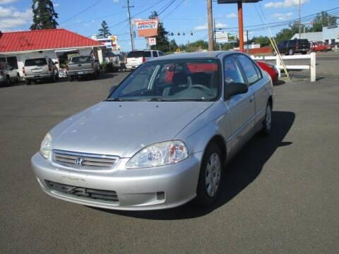 1999 Honda Civic for sale at Select Cars & Trucks Inc in Hubbard OR
