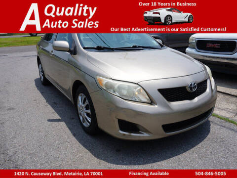 2010 Toyota Corolla for sale at A Quality Auto Sales in Metairie LA