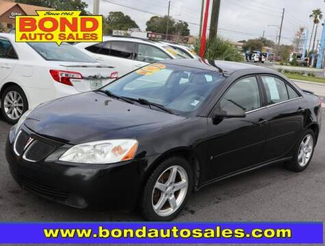 2007 Pontiac G6 for sale at Bond Auto Sales in St Petersburg FL