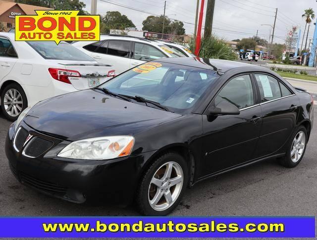 2007 Pontiac G6 for sale at Bond Auto Sales in St Petersburg FL