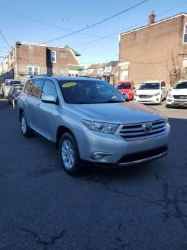 2012 Toyota Highlander for sale at Key & V Auto Sales in Philadelphia PA