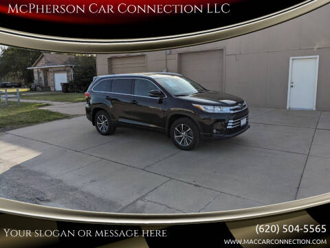2017 Toyota Highlander for sale at McPherson Car Connection LLC in Mcpherson KS