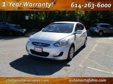 2012 Hyundai Accent for sale at Clintonville Car Sales - AutoMart of Ohio in Columbus OH