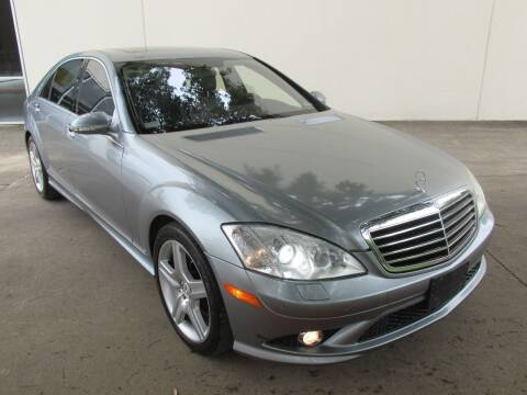 2008 Mercedes-Benz S-Class for sale at QUALITY MOTORCARS in Richmond TX