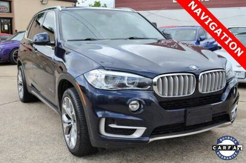 2017 BMW X5 for sale at LAKESIDE MOTORS, INC. in Sachse TX