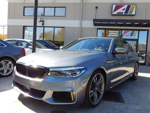 2018 BMW 5 Series for sale at Auto Assets in Powell OH