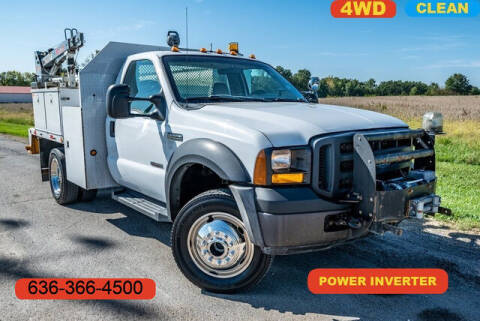 2007 Ford F-550 Super Duty for sale at Fruendly Auto Source in Moscow Mills MO