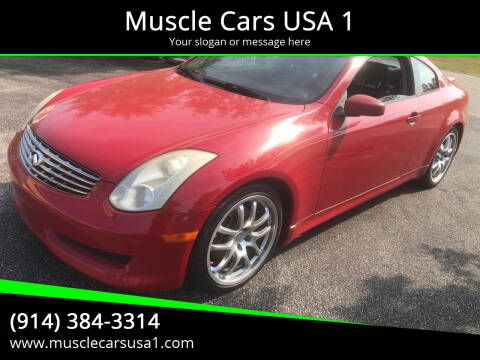 2006 Infiniti G35 for sale at Muscle Cars USA 1 in Murrells Inlet SC