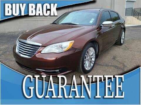 2012 Chrysler 200 for sale at Reliable Auto Sales in Las Vegas NV