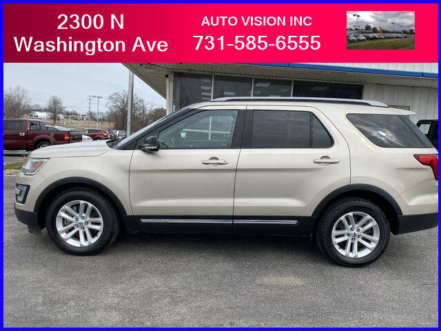 2017 Ford Explorer for sale at Auto Vision Inc. in Brownsville TN