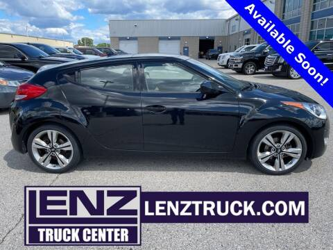 2017 Hyundai Veloster for sale at LENZ TRUCK CENTER in Fond Du Lac WI
