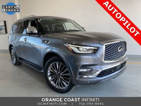 2018 Infiniti QX80 for sale at ORANGE COAST CARS in Westminster CA