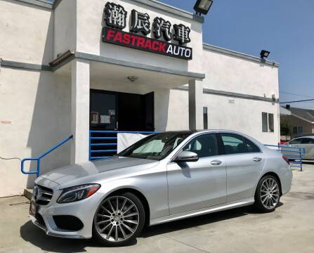 2016 Mercedes-Benz C-Class for sale at Fastrack Auto Inc in Rosemead CA
