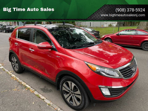 2013 Kia Sportage for sale at Big Time Auto Sales in Vauxhall NJ