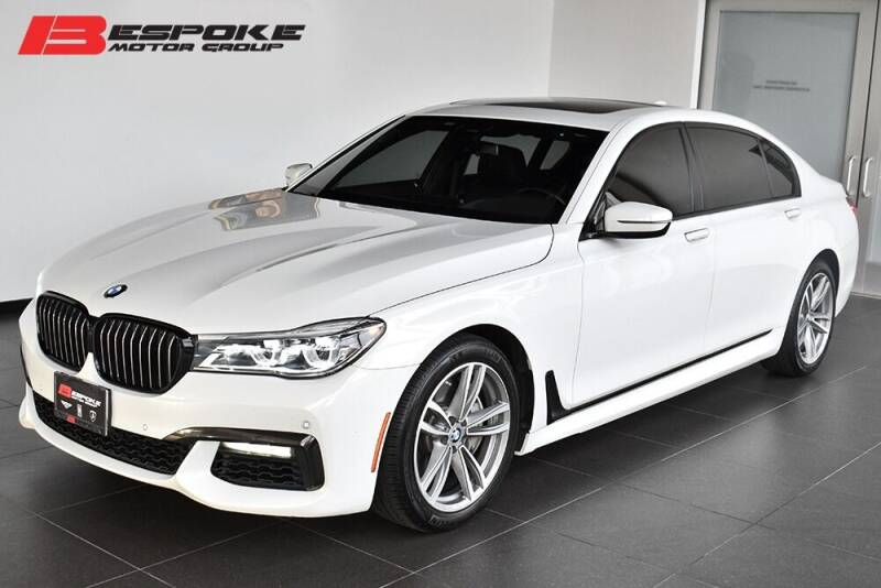 2019 BMW 7 Series for sale at Bespoke Motor Group in Jericho NY