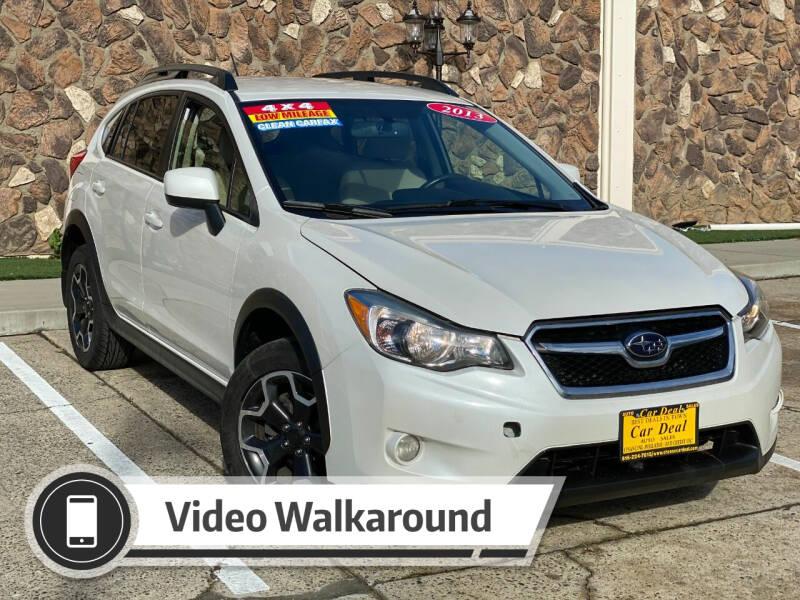 2013 Subaru XV Crosstrek for sale at Car Deal Auto Sales in Sacramento CA