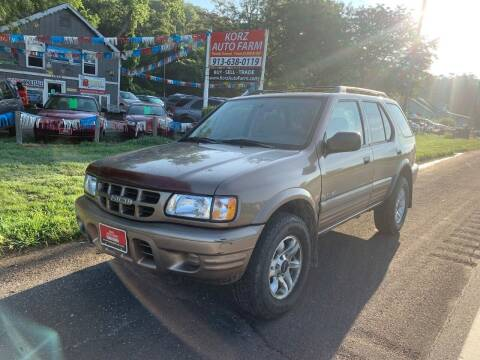 2002 Isuzu Rodeo for sale at Korz Auto Farm in Kansas City KS