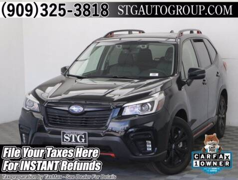 2019 Subaru Forester for sale at STG Auto Group in Montclair CA