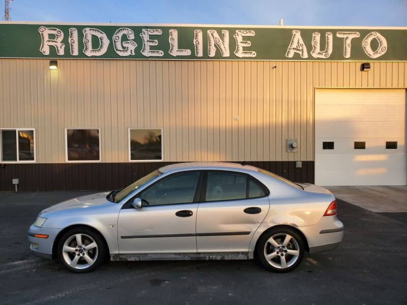 2003 Saab 9-3 for sale at RIDGELINE AUTO in Chubbuck ID