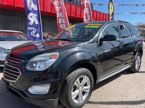 2016 Chevrolet Equinox for sale at Duke City Auto LLC in Gallup NM