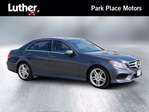 2014 Mercedes-Benz E-Class for sale at Park Place Motor Cars in Rochester MN
