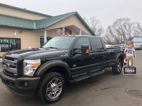 2015 Ford F-250 Super Duty for sale at BATTENKILL MOTORS in Greenwich NY