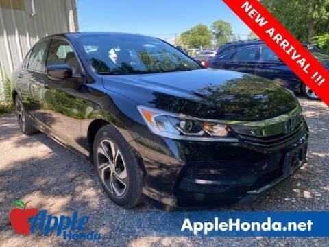 2016 Honda Accord for sale at APPLE HONDA in Riverhead NY