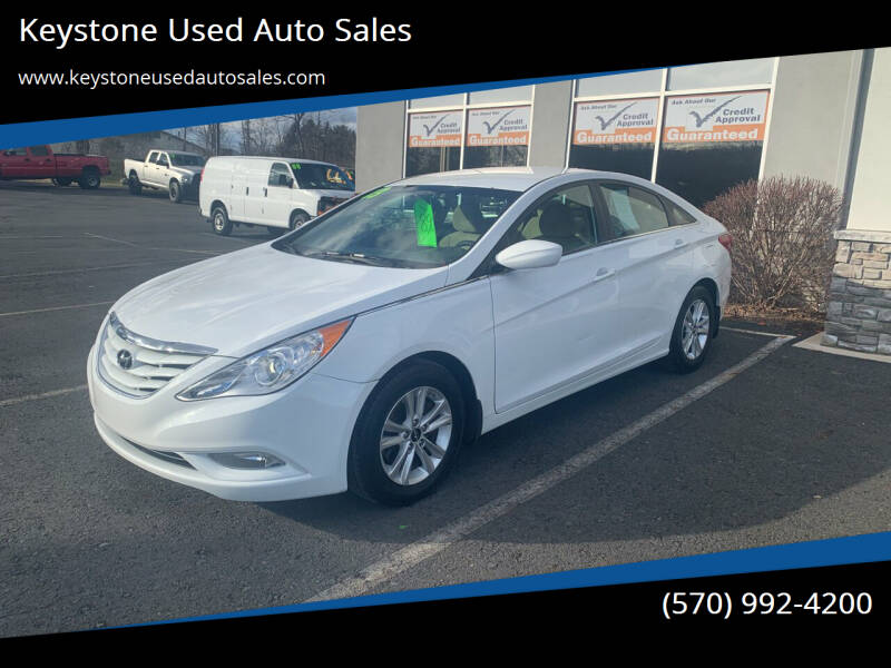 2013 Hyundai Sonata for sale at Keystone Used Auto Sales in Brodheadsville PA