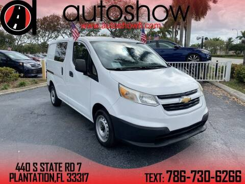 2016 Chevrolet City Express Cargo for sale at AUTOSHOW SALES & SERVICE in Plantation FL