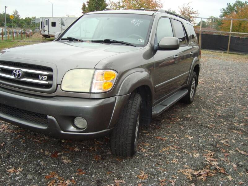 2004 Toyota Sequoia for sale at Branch Avenue Auto Auction in Clinton MD