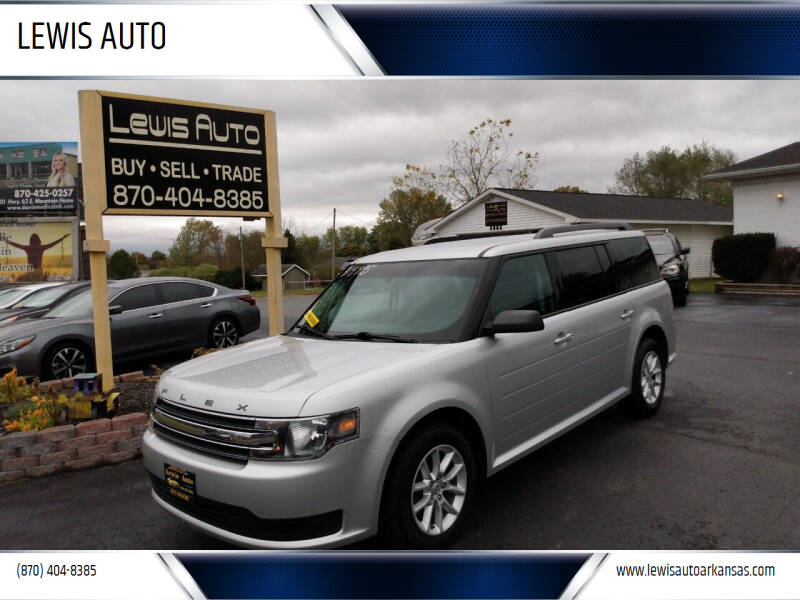 2016 Ford Flex for sale at LEWIS AUTO in Mountain Home AR
