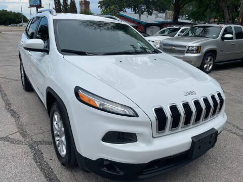 2015 Jeep Cherokee for sale at PRESTIGE AUTOPLEX LLC in Austin TX
