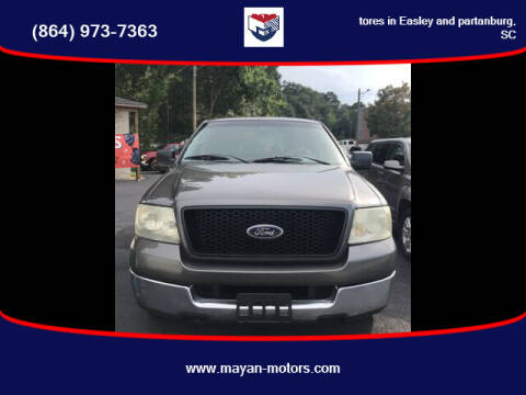 2004 Ford F-150 for sale at Mayan Motors Easley in Easley SC