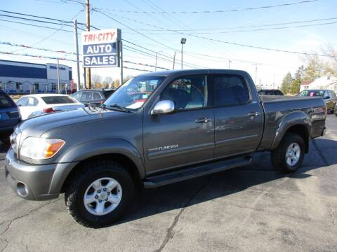 2006 Toyota Tundra for sale at TRI CITY AUTO SALES LLC in Menasha WI