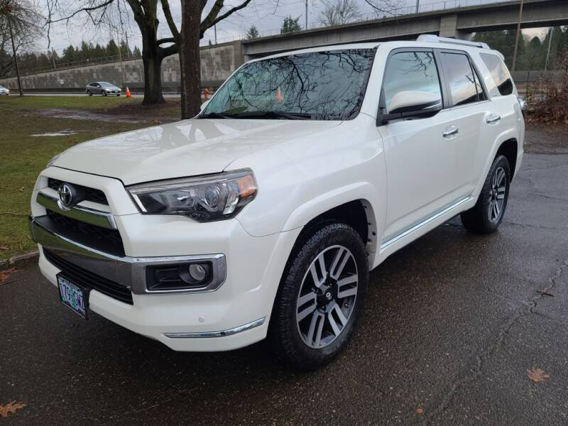 2014 Toyota 4Runner for sale at EXECUTIVE AUTOSPORT in Portland OR