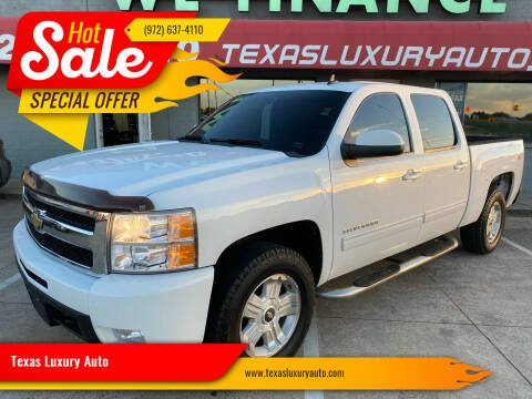 2010 Chevrolet Silverado 1500 for sale at Texas Luxury Auto in Cedar Hill TX