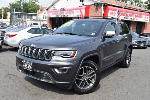 2017 Jeep Grand Cherokee for sale at Foreign Auto Imports in Irvington NJ