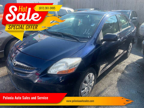 2007 Toyota Yaris for sale at Polonia Auto Sales and Service in Hyde Park MA