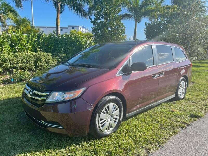 2014 Honda Odyssey for sale at D & P OF MIAMI CORP in Miami FL