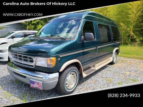 2000 Ford E-Series Cargo for sale at Carolina Auto Brokers of Hickory LLC in Newton NC