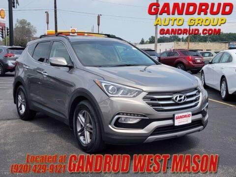 2018 Hyundai Santa Fe Sport for sale at GANDRUD CHEVROLET in Green Bay WI
