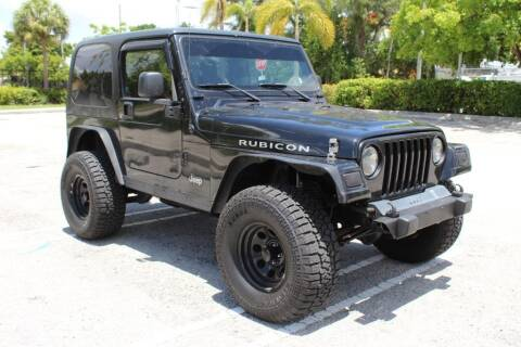 2005 Jeep Wrangler for sale at Truck and Van Outlet in Miami FL