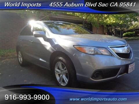 2015 Acura RDX for sale at World Imports in Sacramento CA